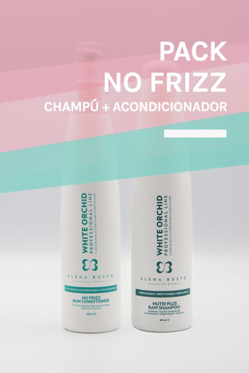 Pack No Frizz Raw - Elena Busto